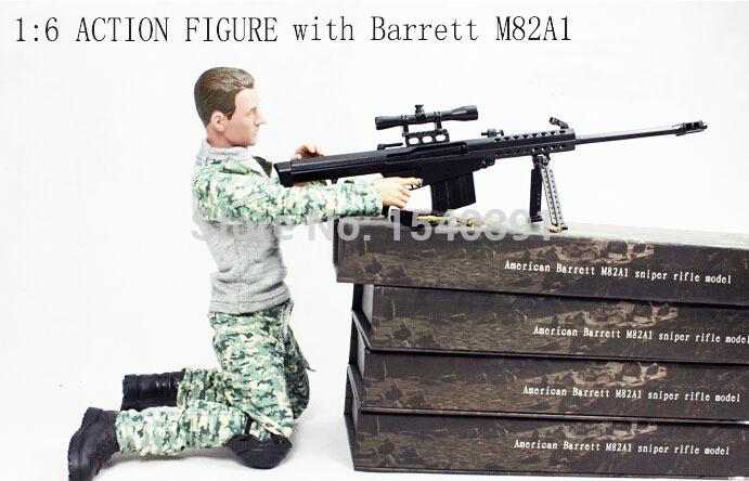 metal toy/replica guns American Barrett M82A1 sniper rifle model(China (Mainland))
