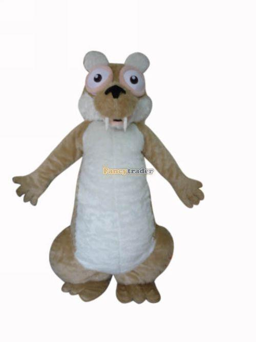 Hot sale 2014 Cartoon Character Adult Squirrel Dress cosplay Halloween Party Costume(China (Mainland))