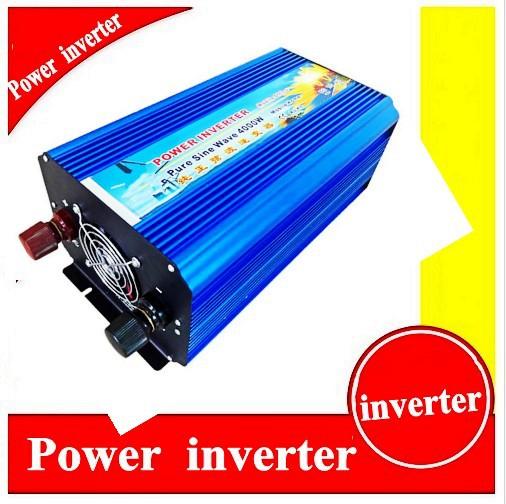 Pure Sine Wave power inverter 4000w DC 60V to AC 220V car inverter power converter off inverter(China (Mainland))