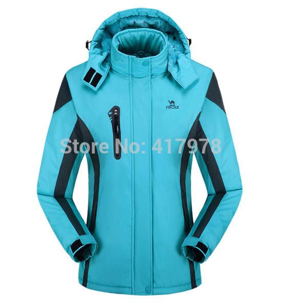 Ski Jacket Women Winter Fleece Softshell Hiking Suit Windbreak Snowboard Jackets Liner Skiing Mountain Clothing Outfit Coat(China (Mainland))