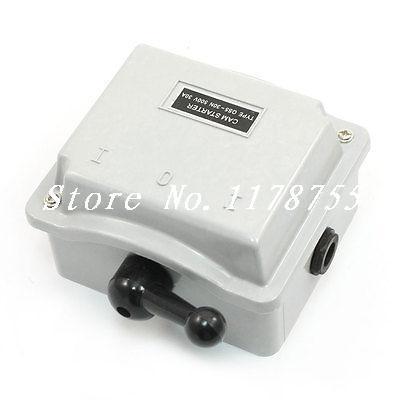 500V 30A Metal Shell Motor Control Forward Reversing Drum Switch QS5-30N(China (Mainland))
