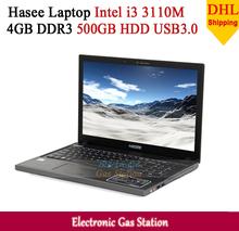 "Hasee Laptop Intel i3 3110M 4GB DDR3 500GB HDD 15.6"" LED 1366*768 Intel HD 4000 USB3.0 VGA HDMI(China (Mainland))"