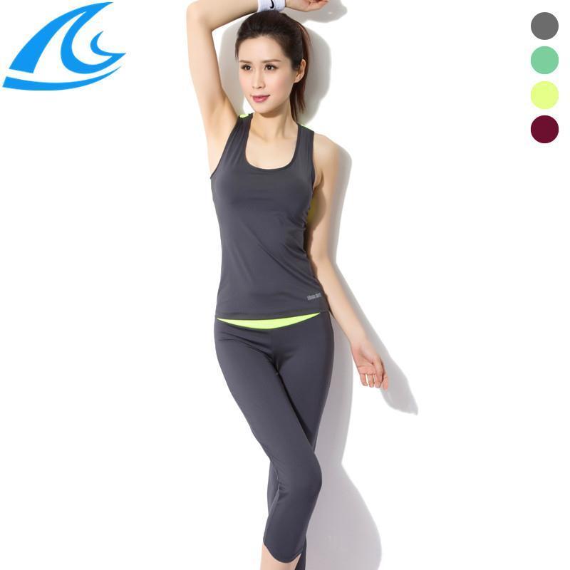 Plus Size Women Sport Clothing Women Sport Suit Yoga Outfit Women'S Yoga Sets 5 Colors(China (Mainland))
