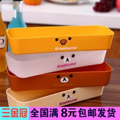 U312 japonês facilmente caixa de armazenamento gaveta acabamento caixa de plástico utensílios de cozinha(China (Mainland))