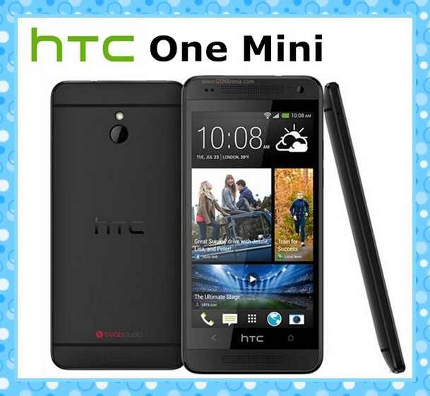 M4 Original HTC ONE MINI 610e Unlocked Cell phone 3G 4G 16GB Storage 1GB RAM Wifi GPS Android Smartphone Free Shipping(China (Mainland))