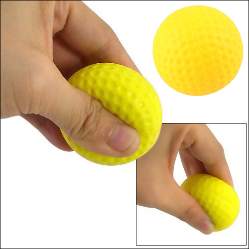 4 Pcs Light Indoor Outdoor Training Practice Golf Sports Elastic PU Foam Balls(China (Mainland))