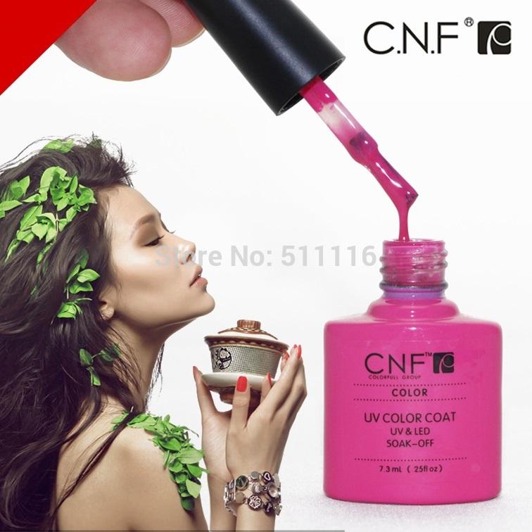 (Choose 20)CNF Nail Gel Polish Soak Off Nail Gel UV 30 Days Long Lasting 79 Gorgeous Colors The Best Gel Polish(China (Mainland))