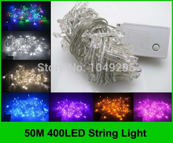 50M-400-LED-String-Lighting-110V-220V-Wedding-Fairy-Christmas-Light-Outdoor-Twinkle-String ...