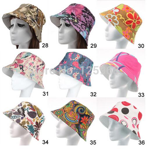 Free shipping!2015 New 5pcs/lot Fashion summer women Flower hat Beach Sun Cap fishing hats 18 Colors For Choose(China (Mainland))