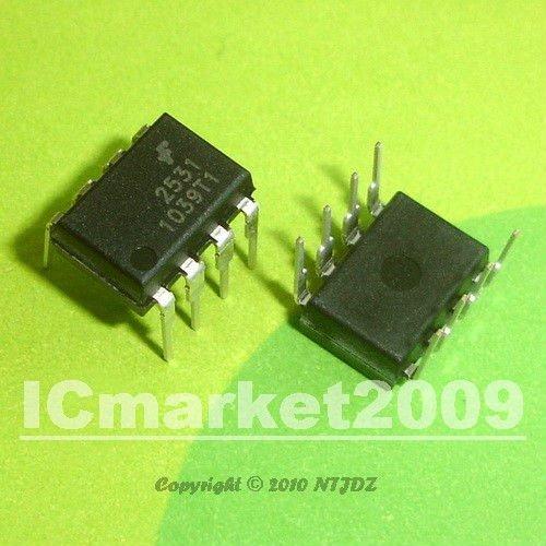 50 PCS HCPL-2531 DIP-8 HCPL2531 A 2531 HIGH SPEED TRANSISTOR OPTOCOUPLERS(China (Mainland))