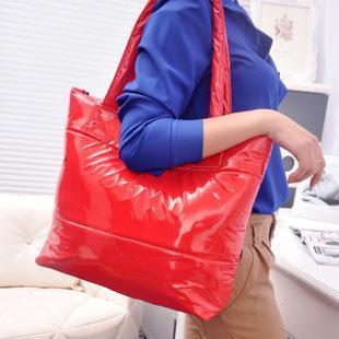 2015 New Hot Women Fanshion Handbag Casual Tote PU Leather 9 Colors Women;s Handbags Shopping Bag Free Shipping(China (Mainland))