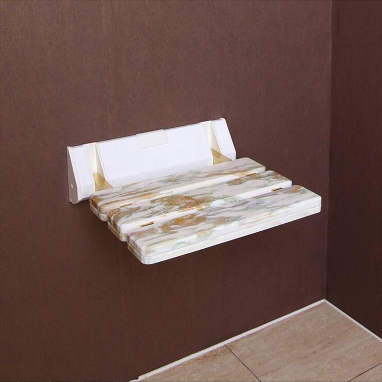 ... imitatie steen abs douche kruk vouwend gang muur badkamer stoel stoel