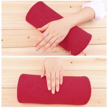 1pc Soft Nail Art Hand Holder Cushion Pillow Nail Arm Rest Manicure Tools Detachable Washable Nail Tools(China (Mainland))