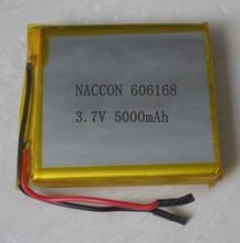 Горячие модели взрыва 606168 5000 мАч аккумулятор портативный мобильный батарея