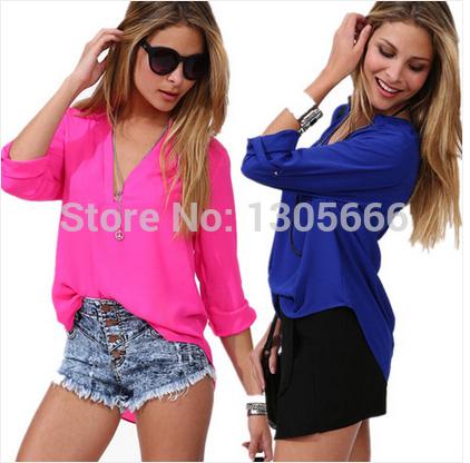 Женские блузки и Рубашки Brand  new v/2015 женские топы и футболки brand new 40356