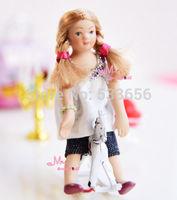 Детская игрушечная мебель 1/12 Bookshef khj