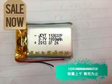 3,7 V полимер аккумулятор 112637 A + общий 1000 mah высокая емкость полимер аккумулятор