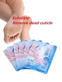 5 пара = 10 шт. отшелушивающий уход за ногами здравоохранение детская нога пилинг обновление маска удалить мертвых кутикул кожи пятки уход за ногами маска