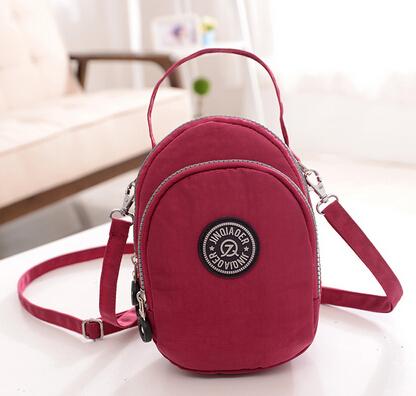 Female Casual Nylon Handbag Small Tote Shoulder Bag For Women's Messenger Bags Ladies Sport Waterproof Nylon Beach Bag Q28-07(China (Mainland))