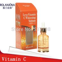 rolanjona vitamin c  whitening serum 30ml/bottle whitening anti spot cream ageless products lighten dark spot remover for face (China (Mainland))