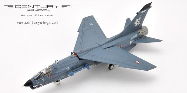 Century Wings F-8E Crusader French Navy 12F No35 1999(China (Mainland))