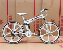 Men's Floding Bicicleta Mountain Bike Hummer Bike 26 Inch 21 Speed Double Disc Brake Student Mountain Bikes Bicycle New(China (Mainland))