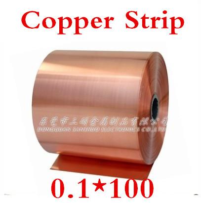 Медная лента Copper Strip 2 0.1x100mm 0,1 ,  0.1*100 одежда для йоги th3 yoga 38503836 1th32013