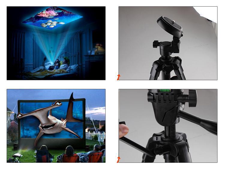 360-Degree Rotatable Universal Projector/Camera Bracket Holder/Tripod/Spider(China (Mainland))