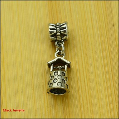 30pcs Fashion Big Hole Loose Beads Well European Pendant Beads Fits Pandora Charms Bracelets & pendants diy Jewelry CQ129(China (Mainland))