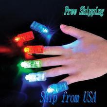 ship from USA Promotion Wholesale ship from USA  Promotion Wholesale 8 LED Finger Lights JA026(China (Mainland))