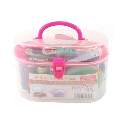 1Pcs Metal Needle Thread Reel Thimble Ruler Tape Pin Travel Sewing Kit Organizer Storage Container Box(China (Mainland))