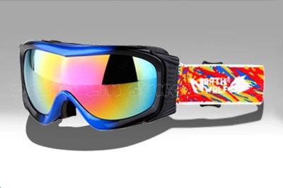 QUEEN Fashion Snowboard Eyewear Snow Snowboarding Glasses snow-Protection Multi-Color Anti-fog Lens Ski Goggles Q-613(China (Mainland))