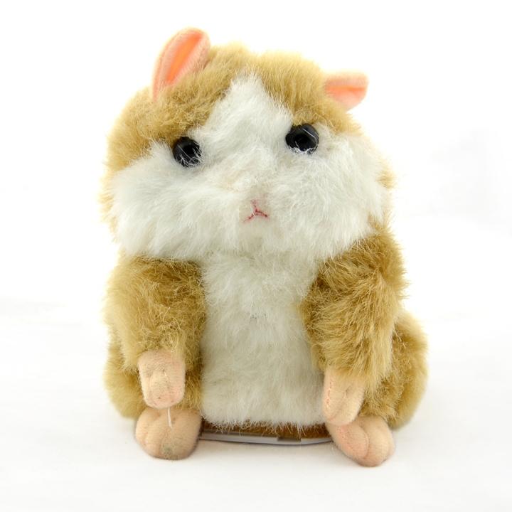 Arrival 2015 Mimicry ENE Pet Plush Talking Animal Swing Hamster Kids Child Play Plush Toy C14933CR(China (Mainland))