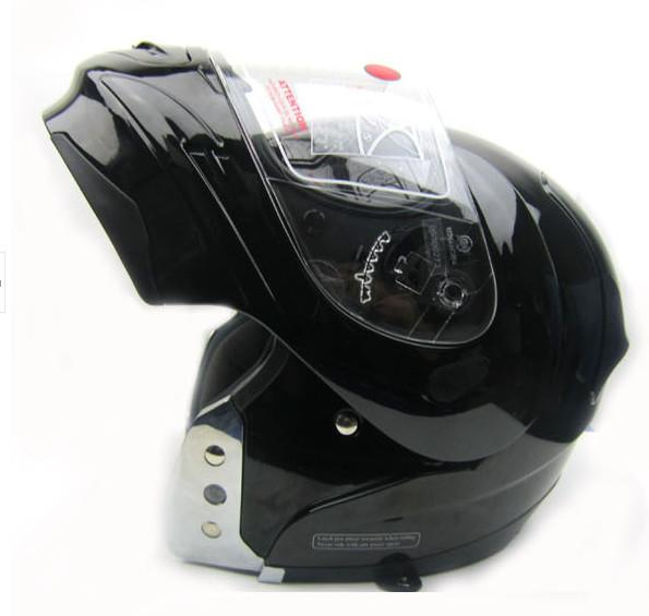 Genuine American VEGA motorcycle helmet visor exposing a king-size XXXL No. black(China (Mainland))