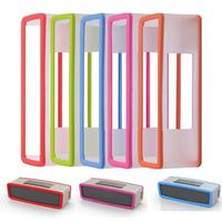 Fashion Soft Cover Case For Bose SoundLink Mini Bluetooth Speaker Silica gel Protection Travel Bag Speaker Case 5 Colors