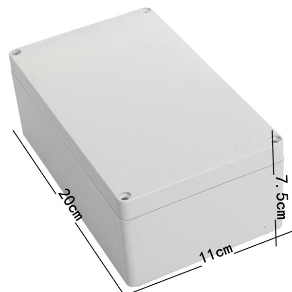 20X11X7.5cm Junction Box Instrument Chassis Instrument Housing Sealed Box Plastic Housing Waterproof Plastic Enclosure Case(China (Mainland))