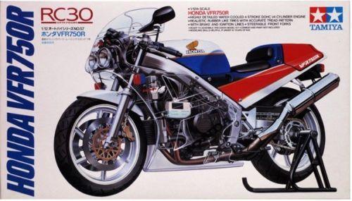 Tamiya 1/12 Scale 14057 Honda VFR750R Motorcycle/Moto Model Kit Free Shipping(China (Mainland))