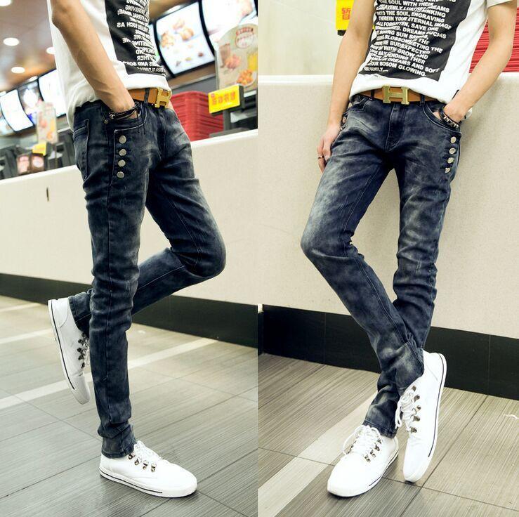 Buckle Pants For Men Men's Trousers Side Buckle