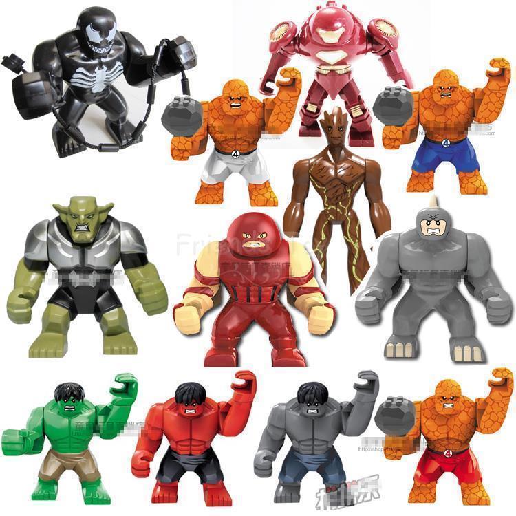 Big Iron Man vs Hulk Venom Groot Iron Man Big