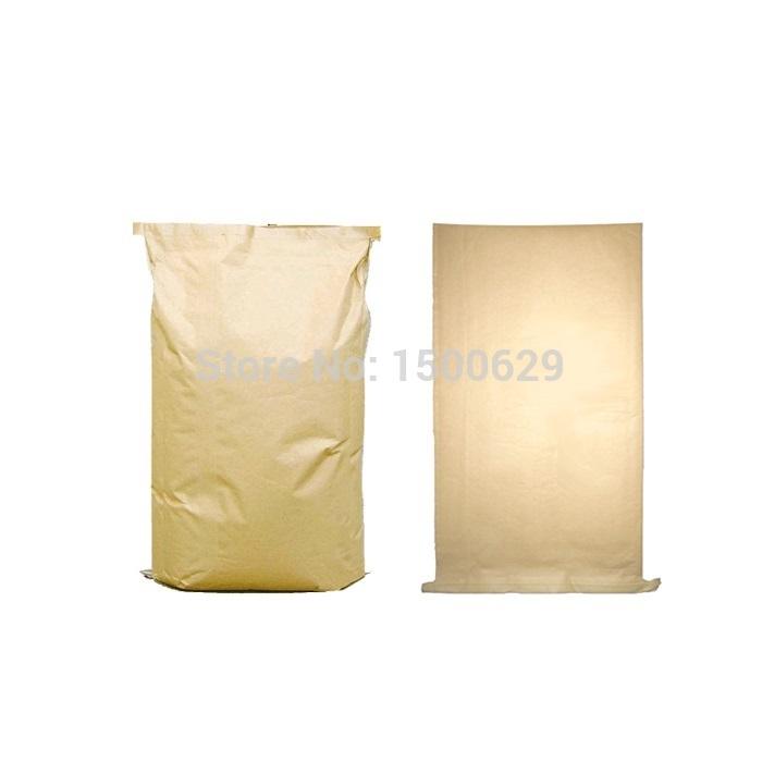 10 PCs Paper-plastic Composite Bag Kraft Bag D