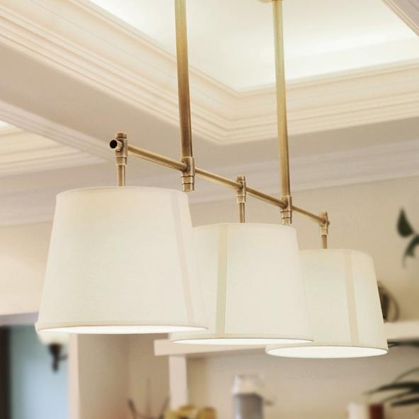 lampadario stile country : Stile country americano tavolo da pranzo rettangolare lampadario luce ...
