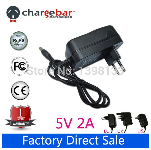 Зарядное устройство для планшета 5V 2A 2000mA AC DC 7i Tablet PC автомобильное зарядное устройство tronsmart c3pta 2x2 4a 2a qc3 0 usb черный