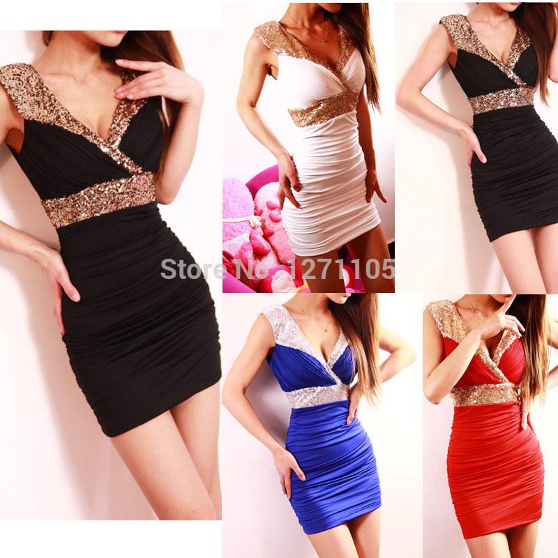 Женское платье Brand New 2015 V Bodycon  G0520 женское платье new brand v