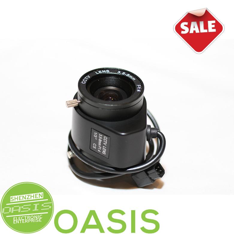 3.5-8mm Varifocal Auto Iris Zoom Lens for CCTV Security Cameras(China (Mainland))