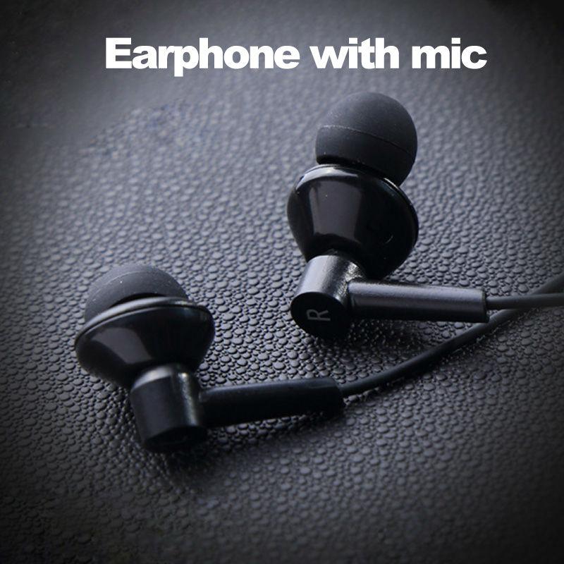 Бренд Ivery mp3-наушники наушники для IPhone / Android музыка наушники гарнитуры для MP3 / MP4 с микрофоном металл лежа кабель