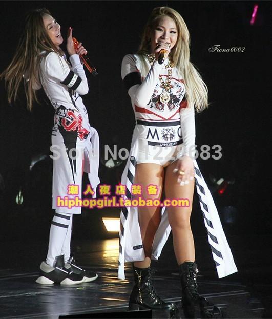 Одежда для китайских народных танцев Www.dancewearballet.com 2015 /dj 2ne1 DB23460-3 2ne1 first live concert nolza