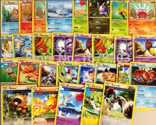 2015 new 200 pieces/lot no repeat anime figure english pokemon card/game cards toys for kids&Children best gift free shipping(China (Mainland))
