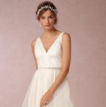 100%  Handmade  vine Hair Accessories  Bridal Headband, Wedding Belt Sash or Headwrap