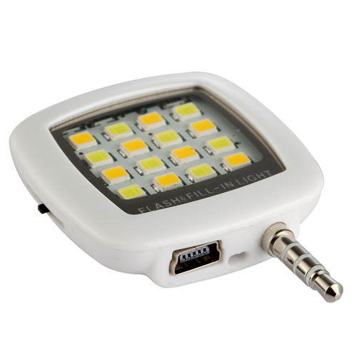 Built in 16 led lights iblazr LED FLASH for Camera Phone support for multiple Photography mini