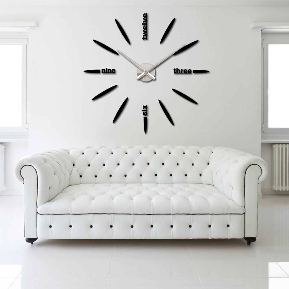Настенные часы OEM DIY murale horloge Mirror Wall Clock oem diy needlwork 70x55cm